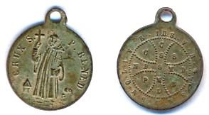 Petite médaille ST-BENOIT - XIXème Scann109