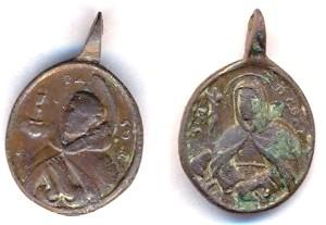 Médaille St-Pascal-Bayon - fin XVIIème / début XVIIIème Scann112