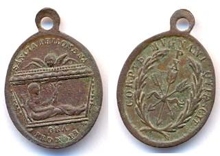 Médaille Ste-Philomène - XIXème Scann126