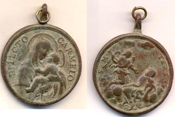 Médaille espagnole - Ste-Thérèse-d'Avila Scanne75