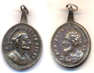 Médaille St-Pierre / St-Paul Scanne76