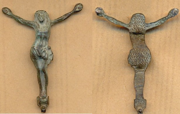 Crucifix XVIIIème / XIXème Scanne89