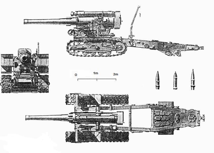 Obusier soviétique B-4 M1931 de 203 mm B4_p3v10