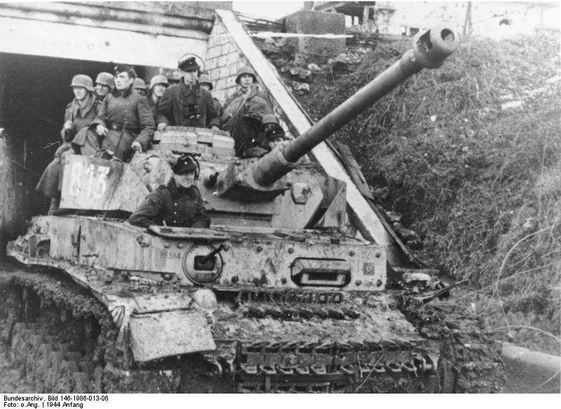 Unité allemande : 26. Panzer-Division 1943-1944 Panzer11