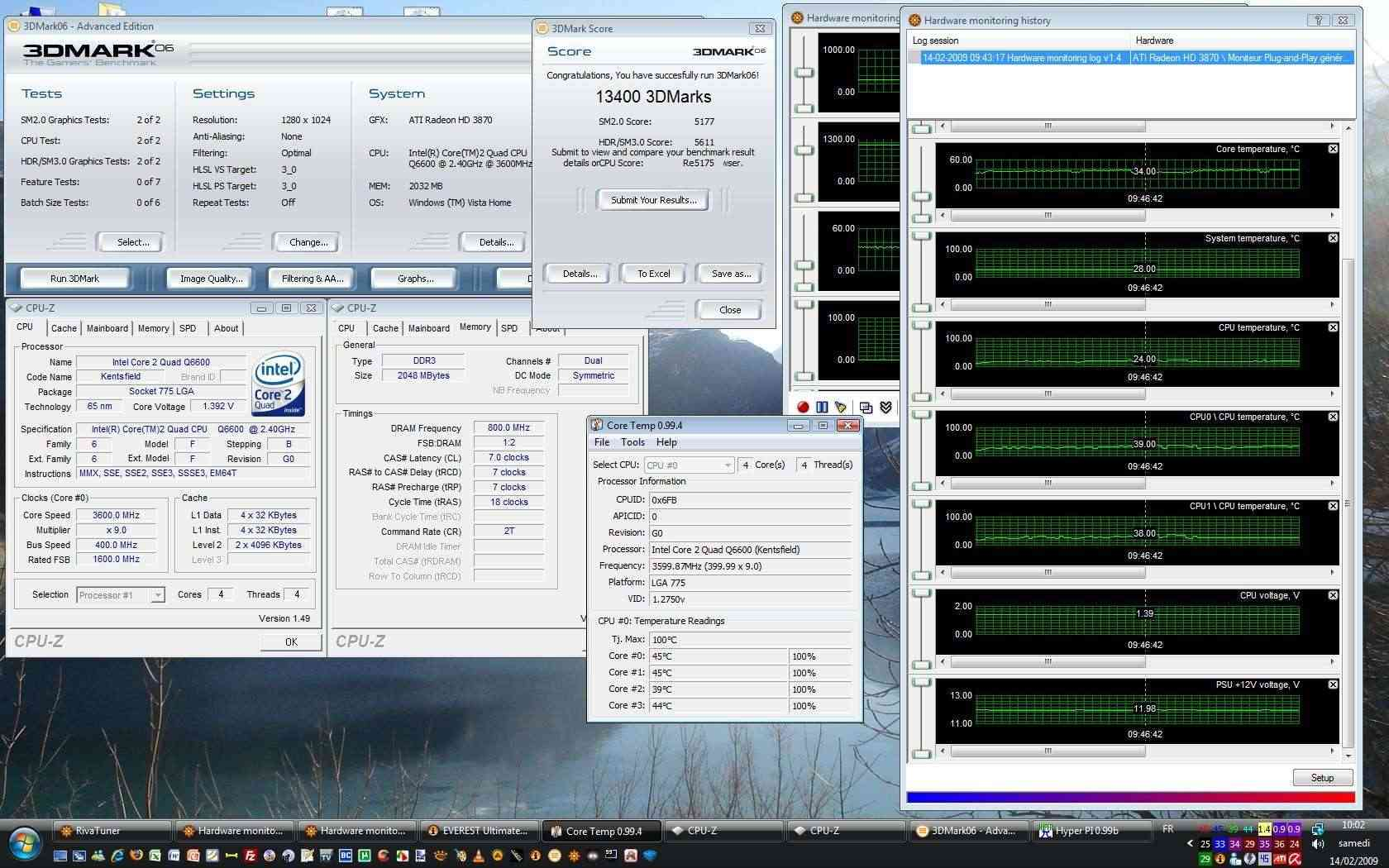 OC d'un Intel Quad Extrême QX9650 C0 ES - Page 2 Oc_q6611
