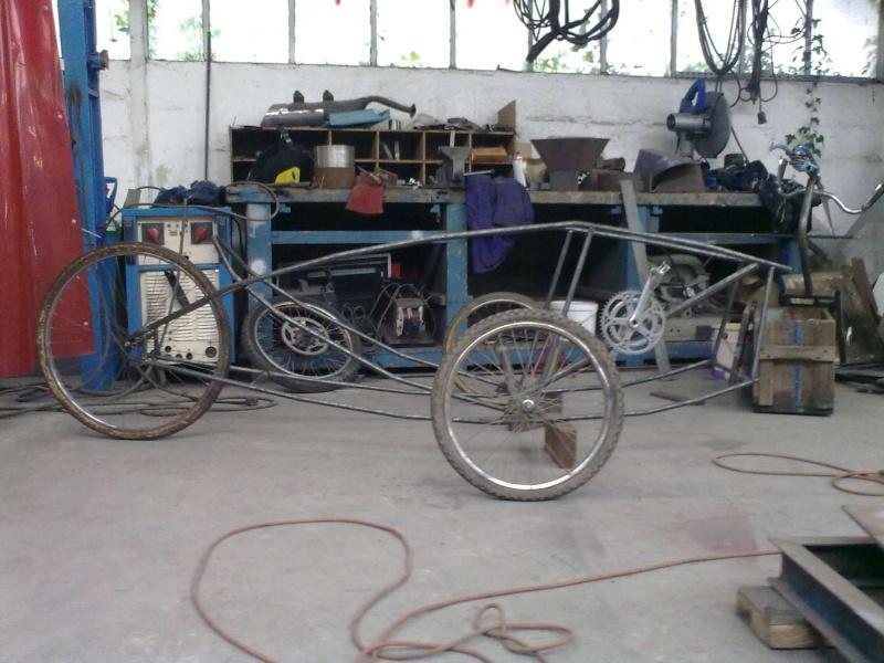 Vélomobile électrique ''heavy metal'' Sidetr10