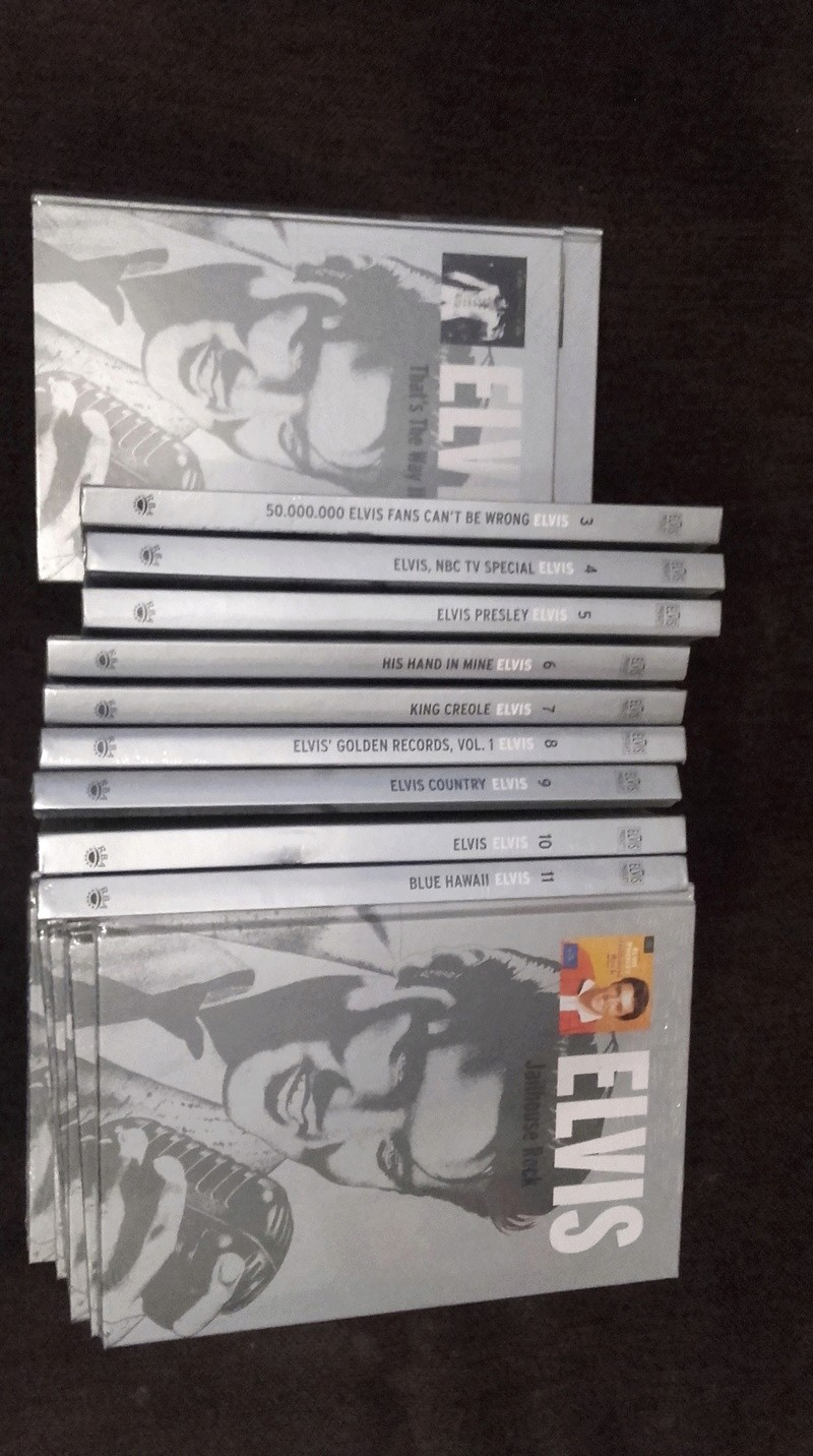 Colección Elvis Presley RBA 20180314