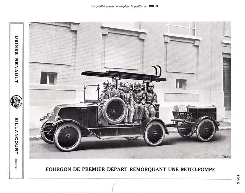 RENAULT - La Motopompe d'incendie Renault  Fourgo10
