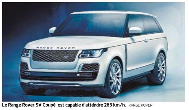 2019 - [Land Rover] Range Rover SV Coupé  - Page 2 Range10