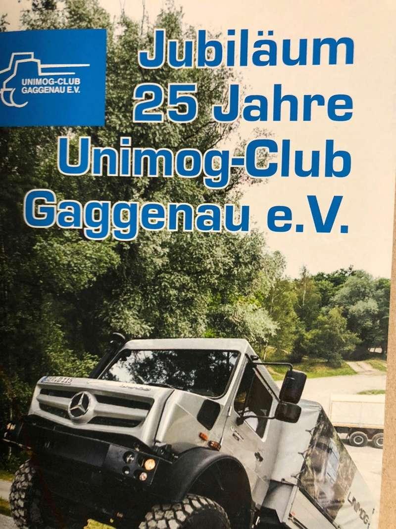 Rencontre 25ième Anniversaire de l'Unimog Club Gaggenau  Unimog10