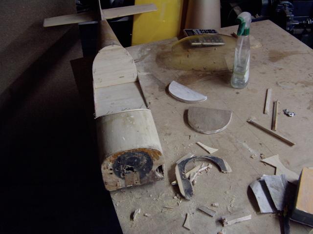 Comment à partir d'une épave fabriquer un petit avion ? Imag0011