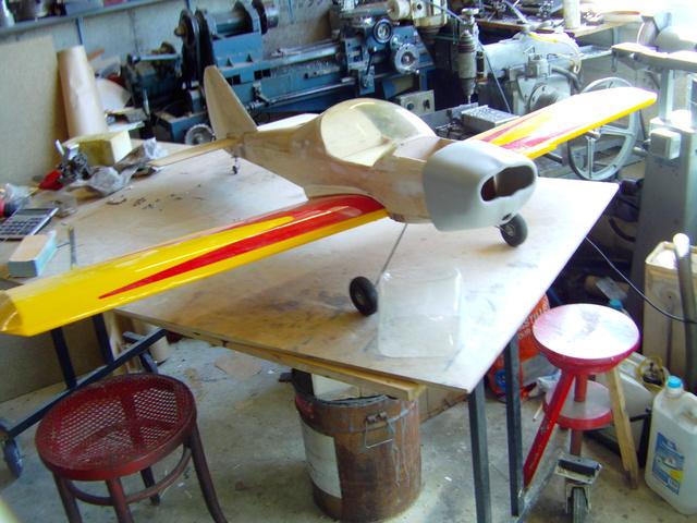 Comment à partir d'une épave fabriquer un petit avion ? Imag0025