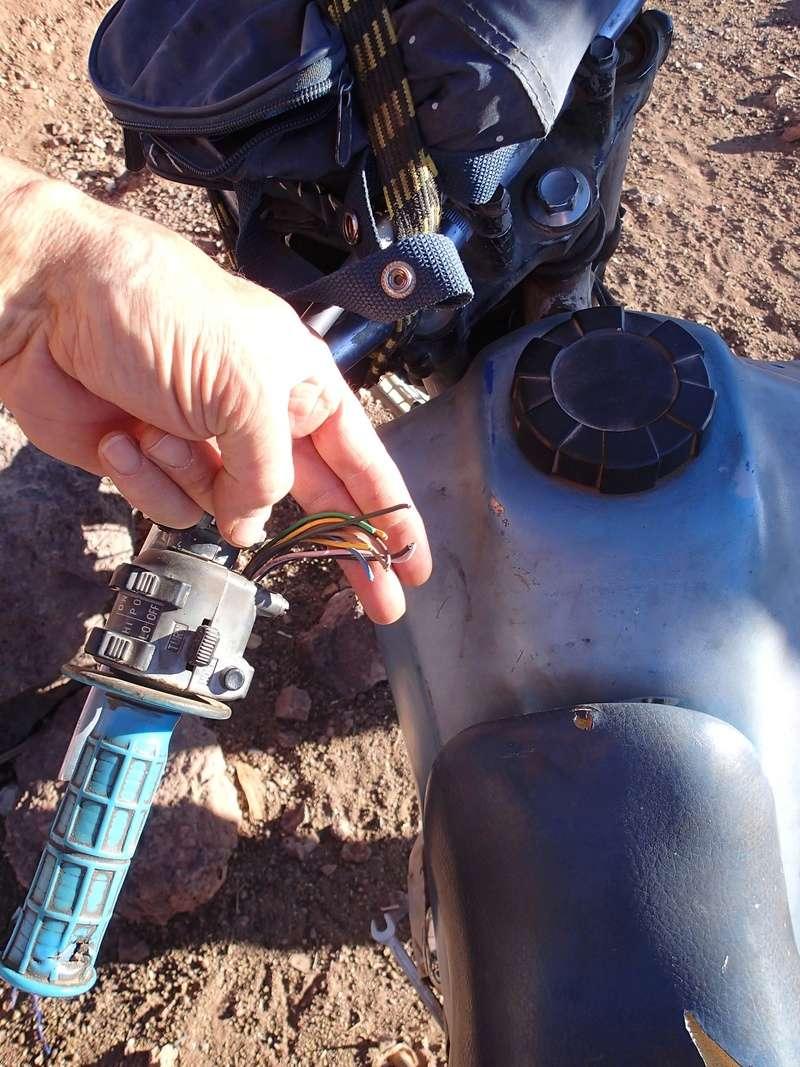 Maroc - Raid dans le Saghro Moto110