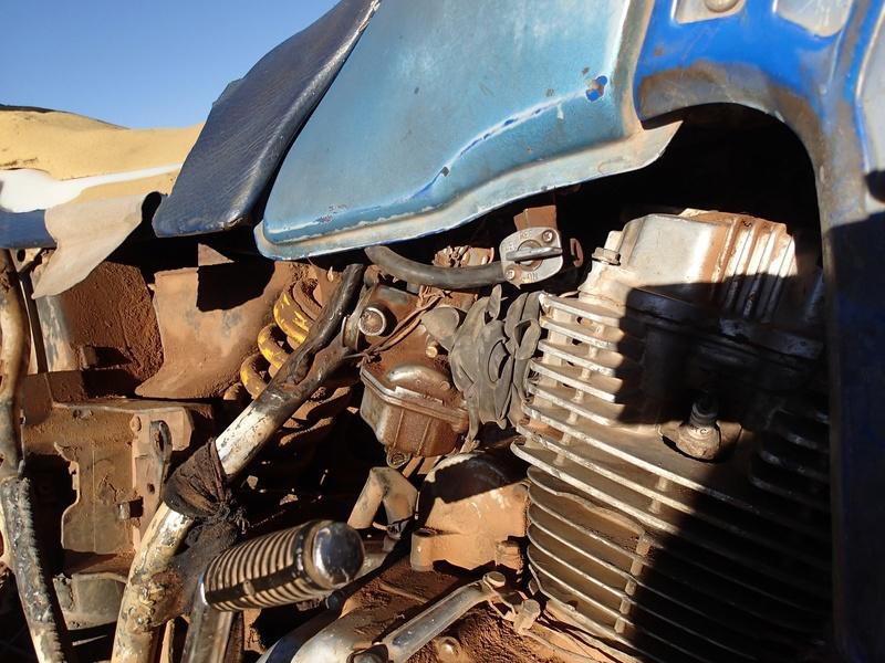 Maroc - Raid dans le Saghro Moto410
