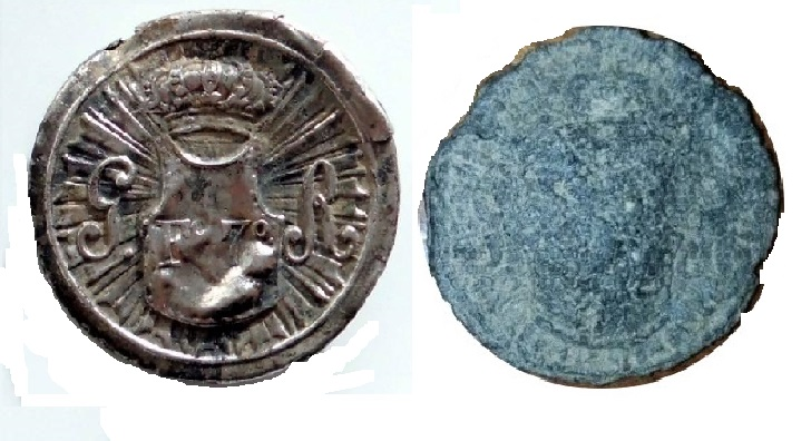Botón Coraceros de la Guardia Real de Fernando VII Cgrf710