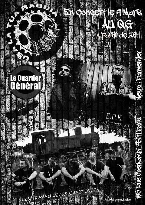 [09.03.18] ELECTRIC PRESS KIT + TRAVAILLEURS CHAOTIQUES-Quartier Général-Paris   9_mars10