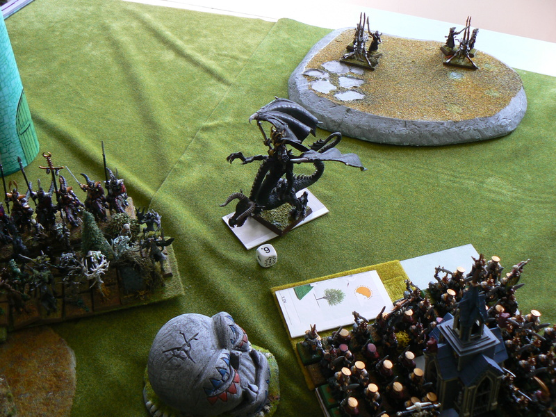 5000 Pts contre les Elfes noirs Durthu contre Malekite P1160633