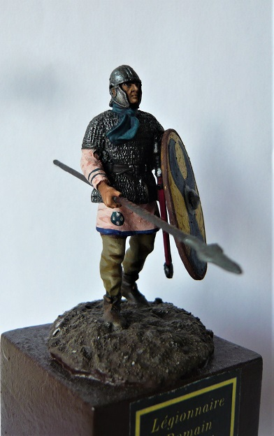 Fantassin Romain, bataille de Strasbourg 357 ap. JC. 54mm P1310919