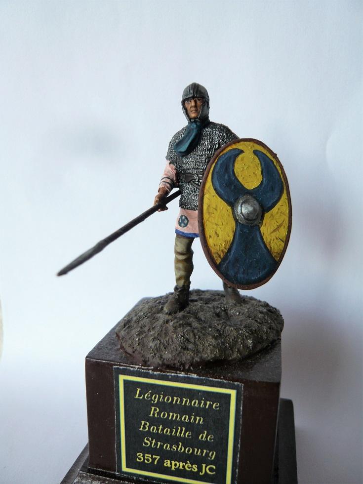 Fantassin Romain, bataille de Strasbourg 357 ap. JC. 54mm P1320010