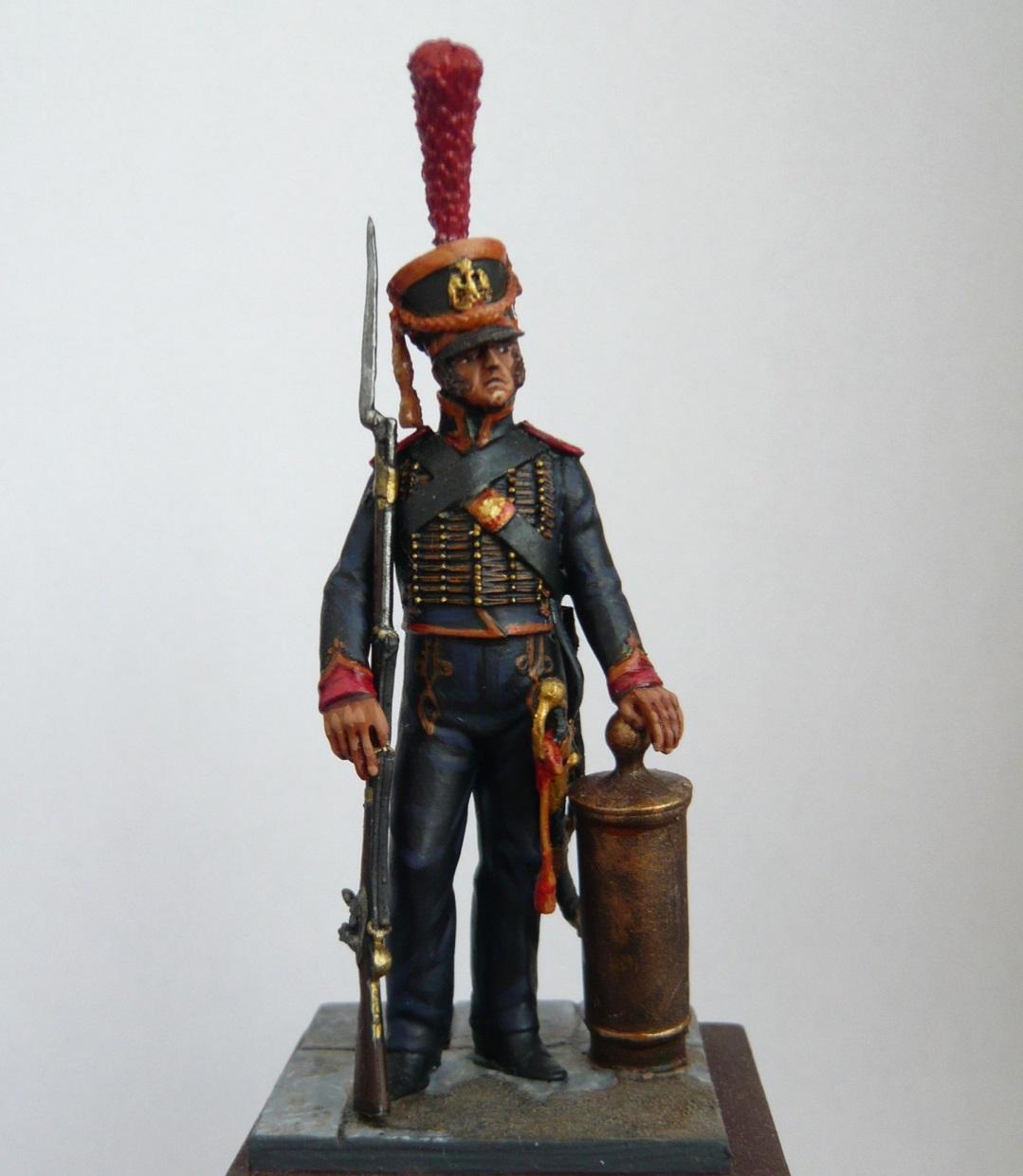 Vitrine de Trajan. Officier Républicain, Guerre d'Espagne 1937. P1320211