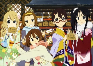 Traditions du nouvel an K-on_610