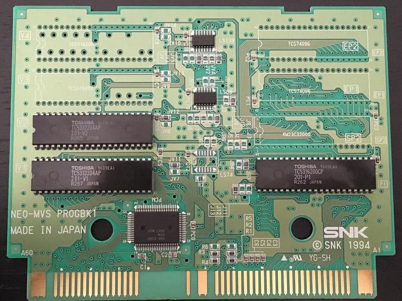 Pas de son Metal Slug MVS original 90f8cf10