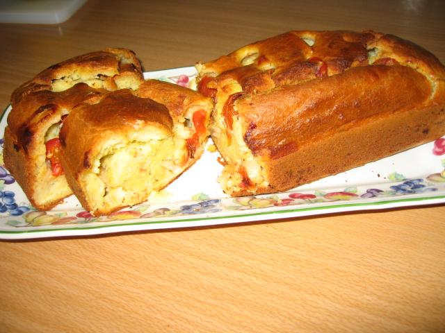 Le cake aux saint-Jacques et tomates cerises Img_0911