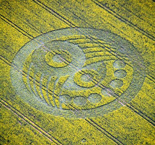 Rrathet ne grure - Crop Circle Old-sa10