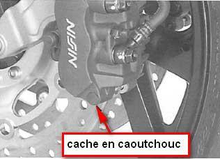 Remplacement plaquettes de frein sur ST 1300 2009-010