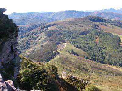 La côte et le pays Basque F10
