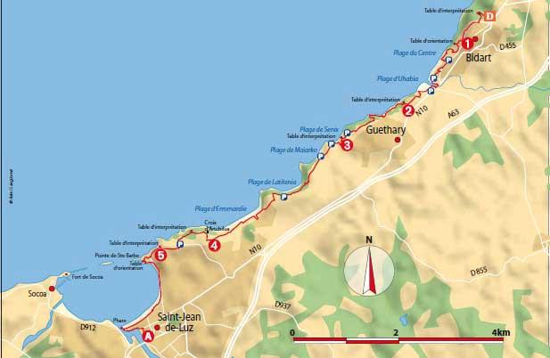 La côte et le pays Basque Sentie10