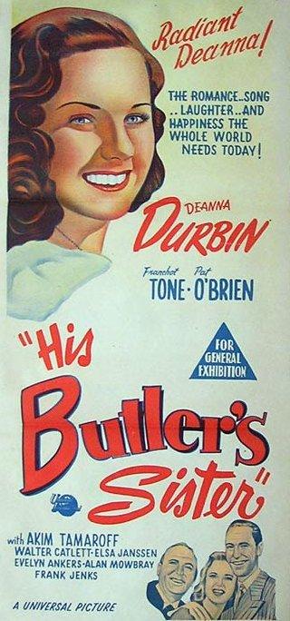 HIS BUTLER'S SISTER Butler12