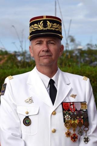 Le général Denis Mistral prendra le commandement de la Légion étrangère à l'été 2018. 616-de11