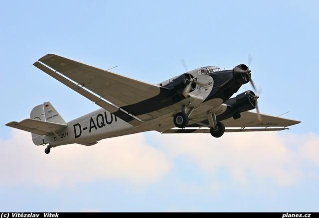 Avion de Ligne Junkers Ju 52/3m Trimoteur Ju523m10