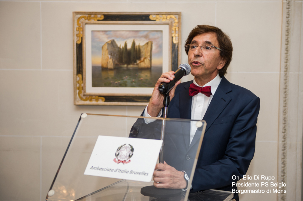 Esposizione all' AMBASCIATA D'ITALIA A BRUXELLES - 31 MAGGIO 2018 0910