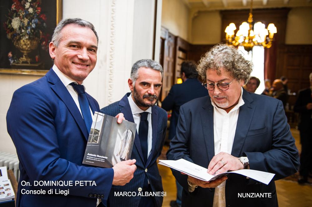 Esposizione all' AMBASCIATA D'ITALIA A BRUXELLES - 31 MAGGIO 2018 1010