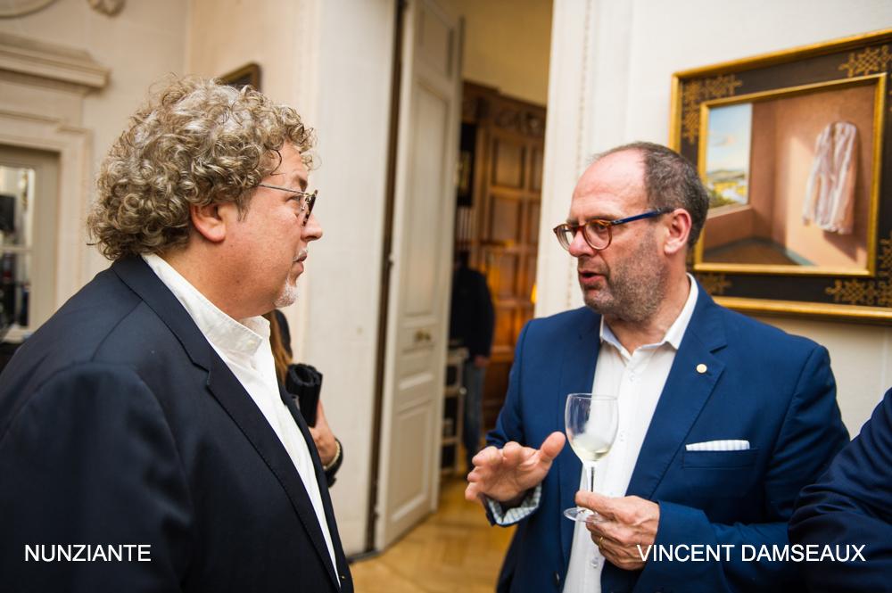 Esposizione all' AMBASCIATA D'ITALIA A BRUXELLES - 31 MAGGIO 2018 1110