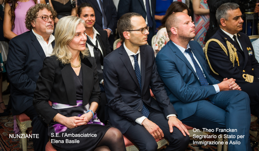 Esposizione all' AMBASCIATA D'ITALIA A BRUXELLES - 31 MAGGIO 2018 1311