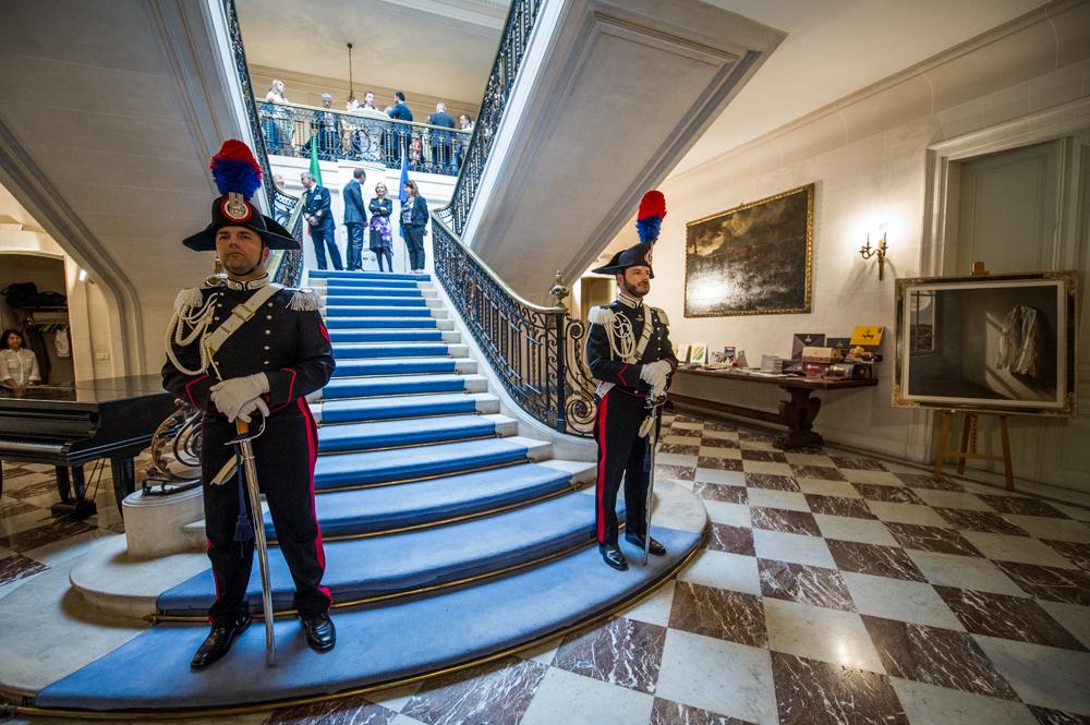 Esposizione all' AMBASCIATA D'ITALIA A BRUXELLES - 31 MAGGIO 2018 1711