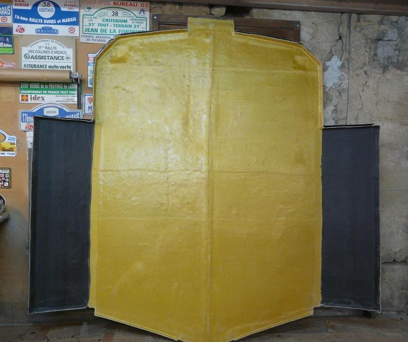 Réalisations de plancher de buggy Angély Composites P1100610
