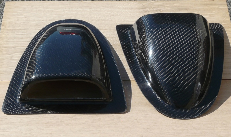 Angély Composites - Prise d'air en Carbone P1110510