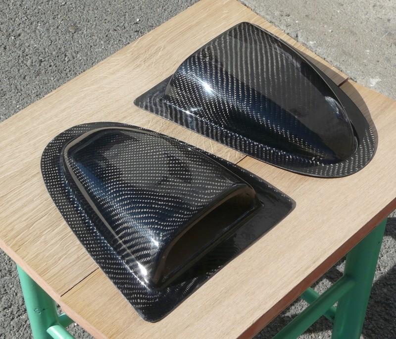 Angély Composites - Prise d'air en Carbone P1110512