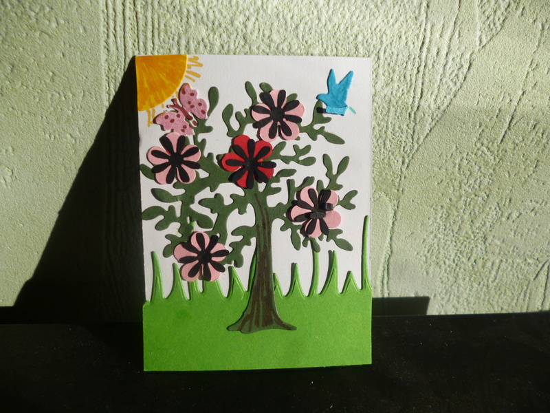 ATC juillet : arbre en fleur P1150414
