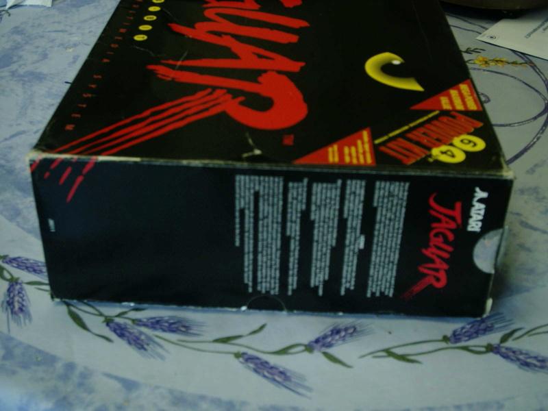 [ESTIM] Console Atari Jaguar US en boite complète + 1 jeu loose 40601911