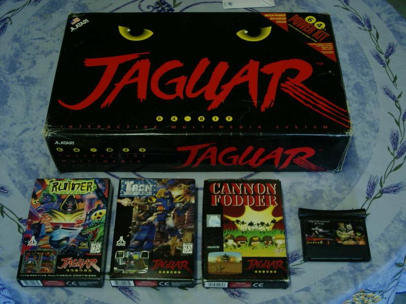 [ESTIM] Console Atari Jaguar US en boite complète + 1 jeu loose 40601912