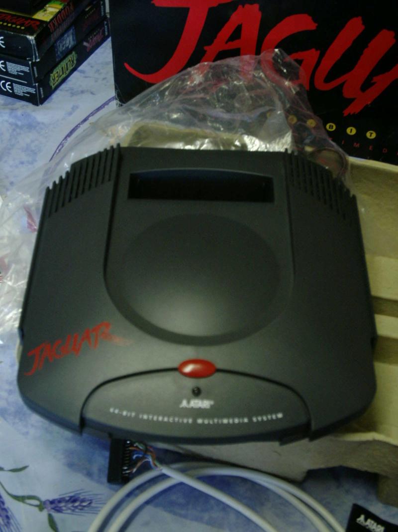 [ESTIM] Console Atari Jaguar US en boite complète + 1 jeu loose 40601915