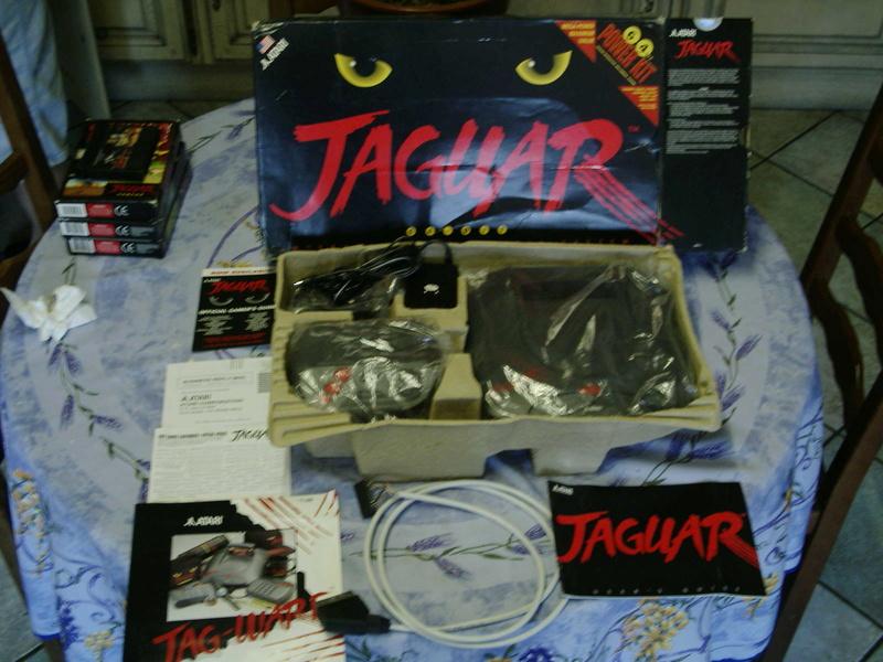 [ESTIM] Console Atari Jaguar US en boite complète + 1 jeu loose 40601916