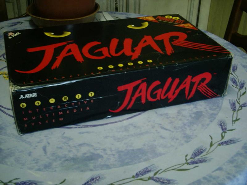 [ESTIM] Console Atari Jaguar US en boite complète + 1 jeu loose 40601918