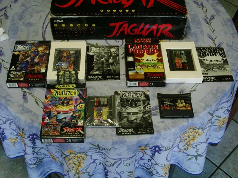 [ESTIM] Console Atari Jaguar US en boite complète + 1 jeu loose 40601919