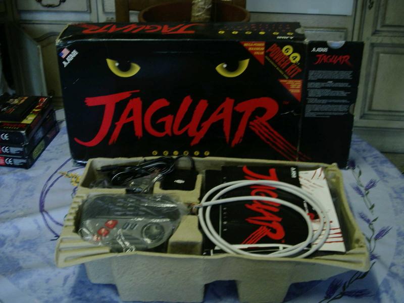 [ESTIM] Console Atari Jaguar US en boite complète + 1 jeu loose 40601920